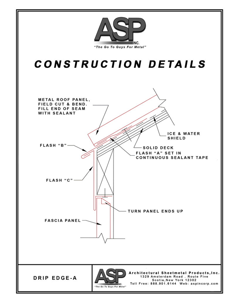 Construction Details | Architectural Sheetmetal Products