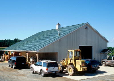 Troy's Landscape Supply - Storage Building