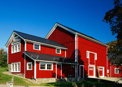 Barn and Residential Home