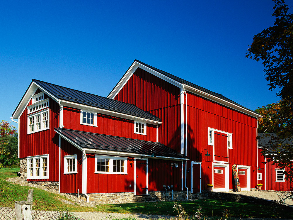 Barn and Residential Home   Architectural Sheetmetal Products